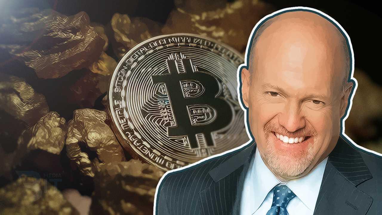"""Джим Крамер, CNBC: """"Биткоин не заменит золото в ближайшем будущем"""""""