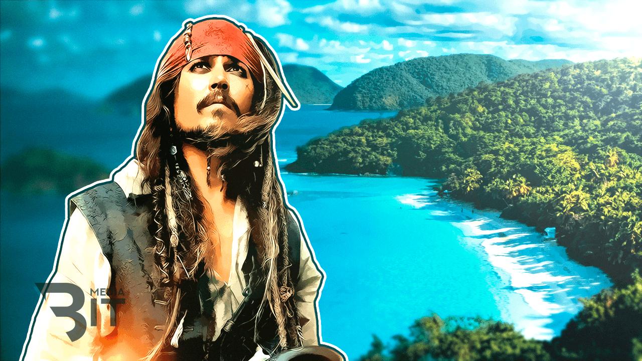 Частичку карибского рая продают только за биткоины