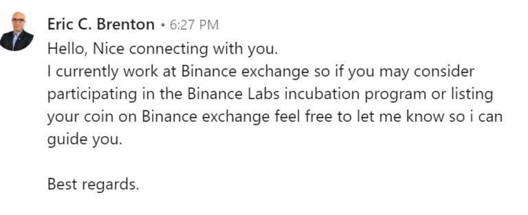 """Divorce next """"representative"""" Binance. The story of the first person."""