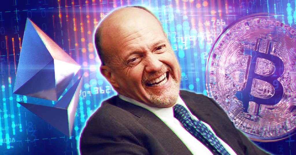 Джим Крамер: Я покупаю Ethereum, потому что биткоин удержался вы� …