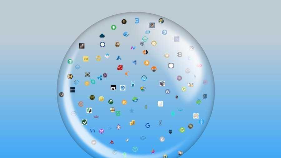 Настоящий пузырь криптовалютного рынка