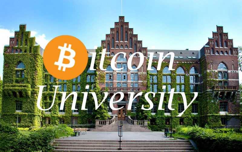 Как учиться в университете за биткоин?