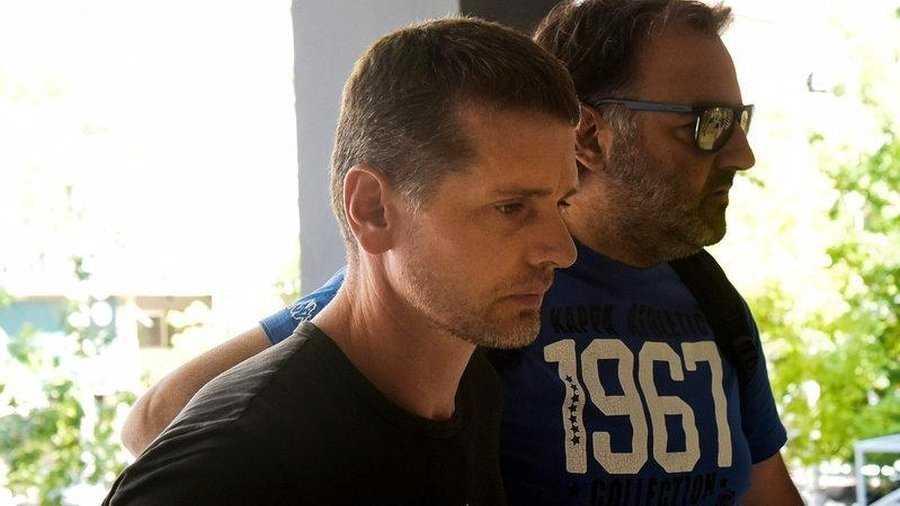 Александр Винник отрицает все обвинения на суде в Греции